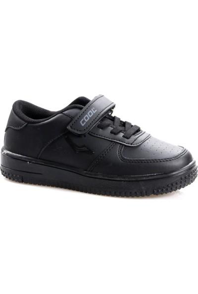 Cool 19-K46 Erkek Çocuk Siyah Günlük Spor Ayakkabı