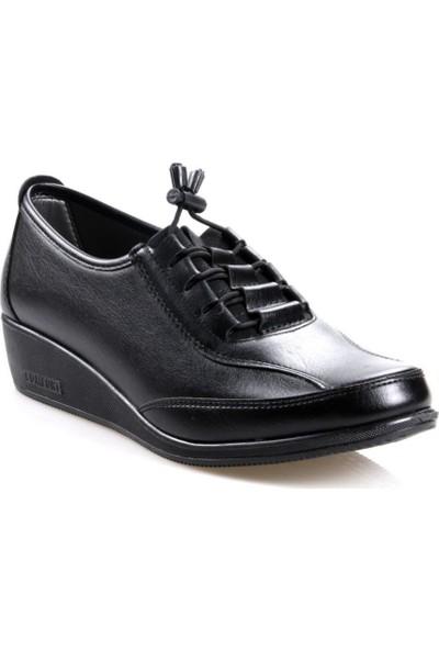 Wanetti 301 Ortapedik Siyah (36-41) Günlük Kadın Ayakkabı