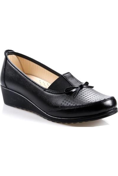 Arızen Büyük Numara (41-42) Siyah Kadın Ayakkabı