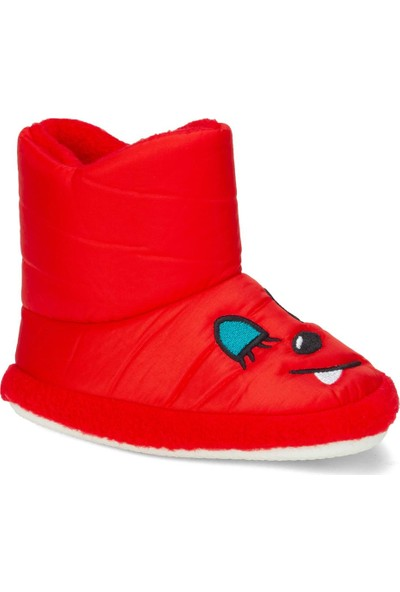 Papuç City Doktor Kırmızı Ev Kreş Erkek-Kız Çocuk Bot Panduf