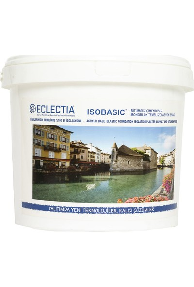 Eclectia Isobasic Süper Bileşen Su Kesici 20 kg