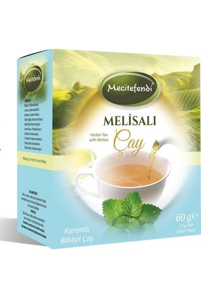 Mecitefendi 4'lü mecitefendi Melissalı Çay (Süzen Poşet 40'lı)