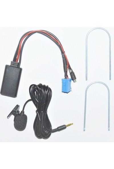 Autoline Fiat Linea / Doblo / Punto / Fiorino Mikrofonlu Bluetooth Kit
