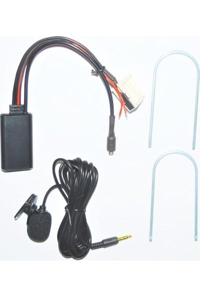 Autoline Peugeot RD4 Teyp Bluetooth Kit Mikrofonlu