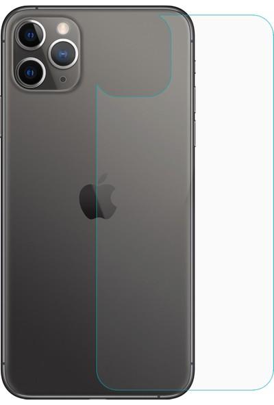 Microsonic Apple iPhone 11 Pro Arka Nano Cam Ekran Koruyucu - Şeffaf