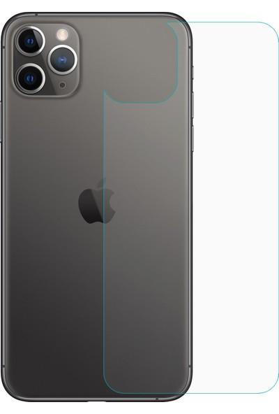 Microsonic Apple iPhone 11 Pro Arka Temperli Cam Ekran Koruyucu - Şeffaf