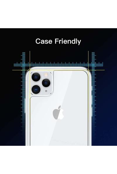 Microsonic Apple iPhone 11 Pro Max Arka Temperli Cam Ekran Koruyucu - Şeffaf