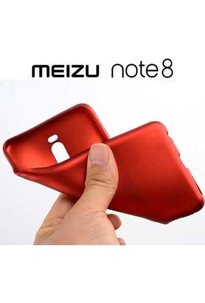 Microsonic Meizu Note 8 Mat Silikon Kılıf - Mor
