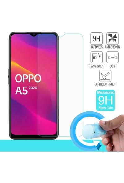 Microsonic Oppo A5 2020 Nano Cam Ekran Koruyucu - Şeffaf