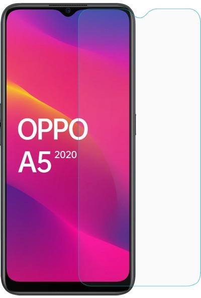 Microsonic Oppo A5 2020 Temperli Cam Ekran Koruyucu - Şeffaf