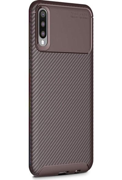 Microsonic Samsung Galaxy A30s Kılıf Legion Series Kahverengi - Kahverengi