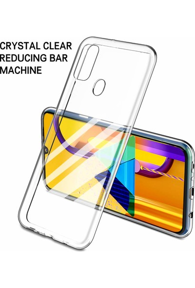 Microsonic Samsung Galaxy M30s Kılıf Transparent Soft - Şeffaf
