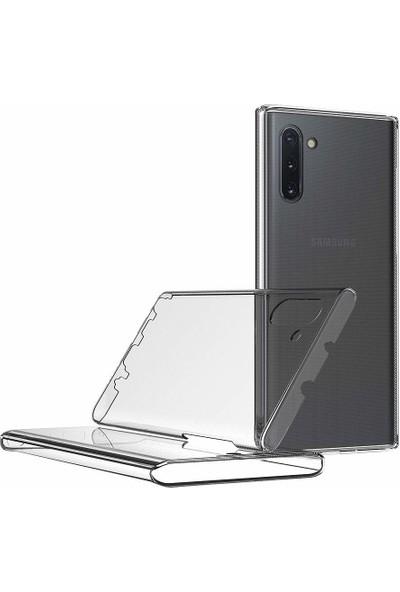 Microsonic Samsung Galaxy Note 10 Kılıf 6 tarafı tam full koruma 360 Clear Soft - Şeffaf