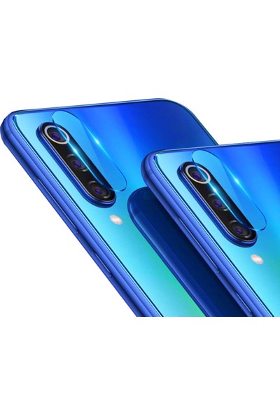 Microsonic Xiaomi Mi 9 SE Kamera Lens Koruma Camı - Şeffaf