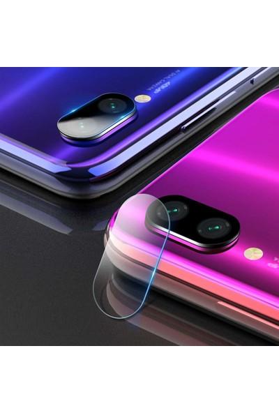 Microsonic Xiaomi Redmi Note 7 Kamera Lens Koruma Camı - Şeffaf
