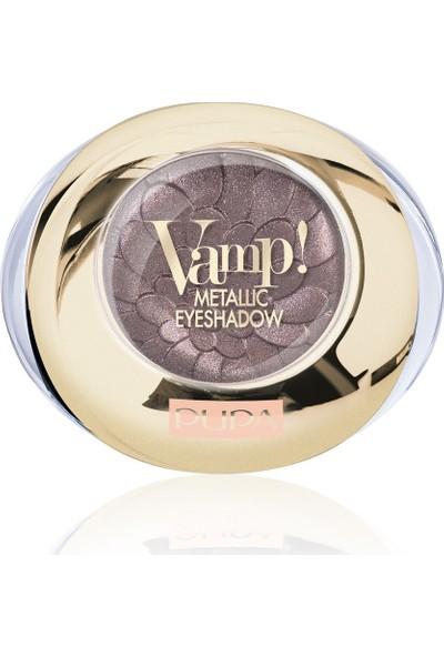 Pupa Far Vamp Metallıc Eyeshadow-Tasteful Chocolate