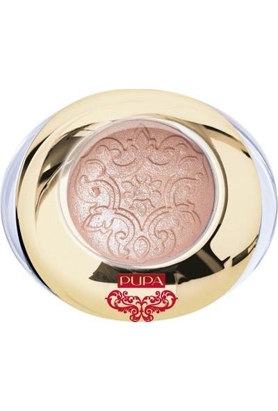 Pupa Far Red Queen Metallıc Eyeshadow-Golden Bronze