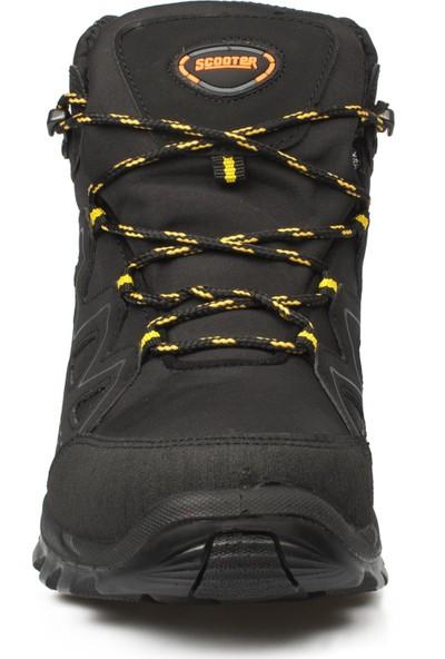 Scooter Siyah Erkek Trekking Bot Ve Ayakkabısı M5536Tss Su Gecirmez Tekstil Bot Tekstil Siyah
