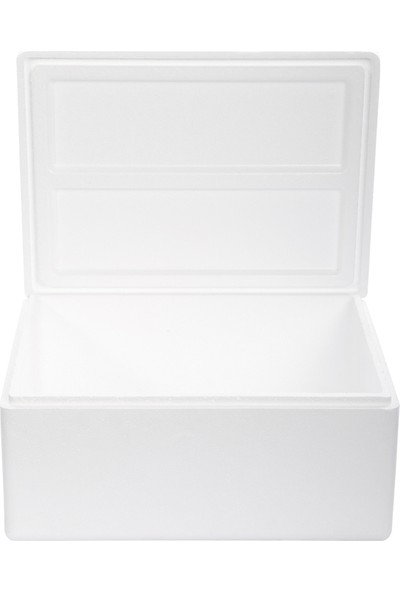 Viyol Pazarı Strafor Köpük Kutu 26.6x20,7x17,3 cm 1,5 kg - 1 Adet D-3