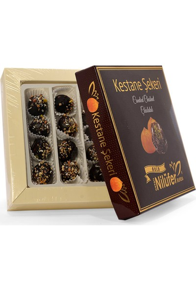 Nilüfer Kestane Şekeri Çikolatalı 400 gr