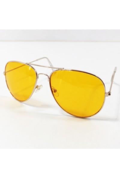 Transformacion Metal Çerçeve Gece Sürüş ve Sis Gözlüğü Gözlük Tutucu Hediyeli