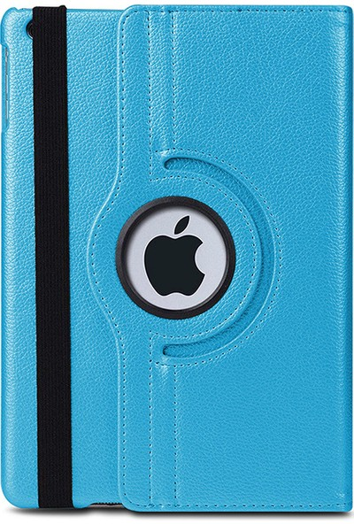 Esepetim Apple iPad 6. Nesil Dönerli Tablet Kılıfı A1822/A1823/A1893/A1954 - Turkuaz