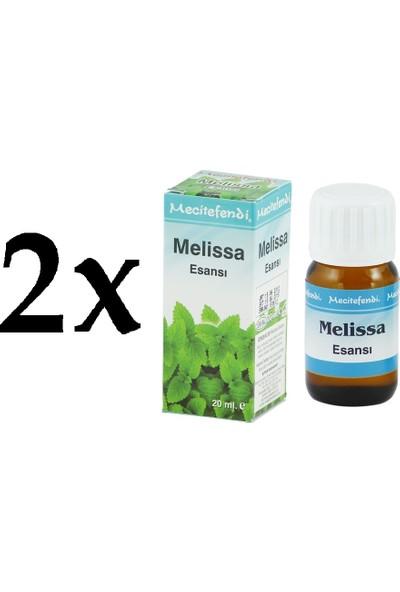 Mecitefendi 2'li Mecitefendi Melissa Esansı 2 x 20 ml