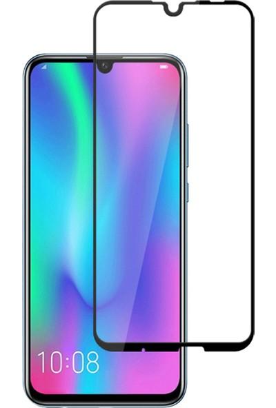 Diamond Glass Huawei P Smart 2019 Tam Kaplayan 5D Ekran Koruyucu Cam