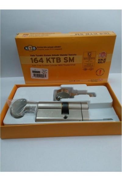 Kale Kilit 164 Ktb Sm 68 mm Tuzaklı Sistem Silindir Mandal Topuzlu Barel Nikel