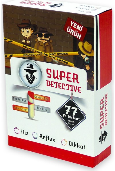 Yeşil Mavi Süper Dedektif Oyunu