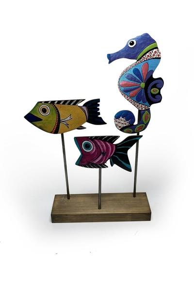 Halk Kitabevi Denizatı ve Balıklar, Ayaklı