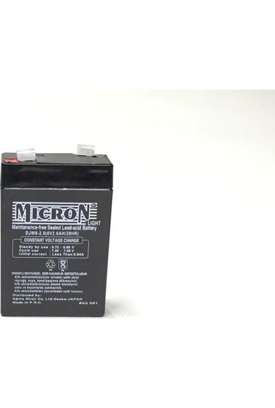 Micron 6V 2.8A Kuru Akü