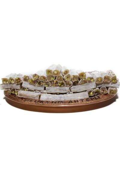 Kurulukçum Antepli Fıstıklı Sade Fitil Lokum 500 gr