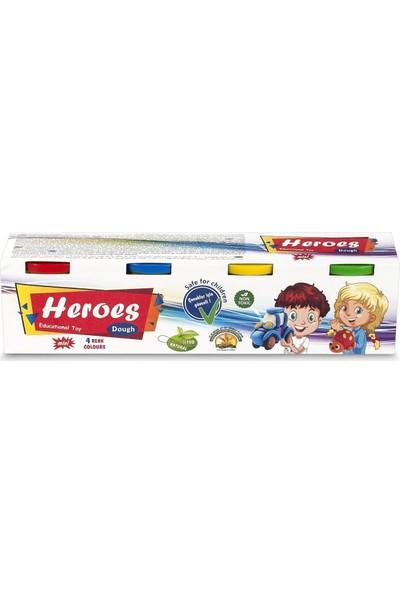 Heroes Mini 4'lü Oyun Hamuru