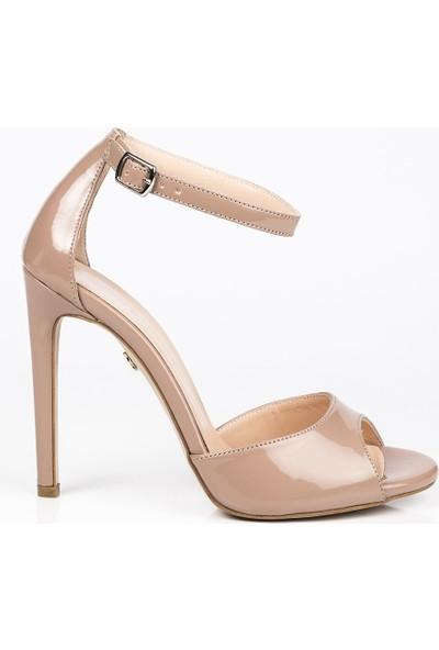 J'abotter Linda Karamel Rugan İnce Topuklu Ayakkabı