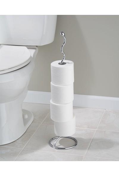 Bosphorus Tuvalet Kağıdı Standı Yedeklikli Modern Tasarım