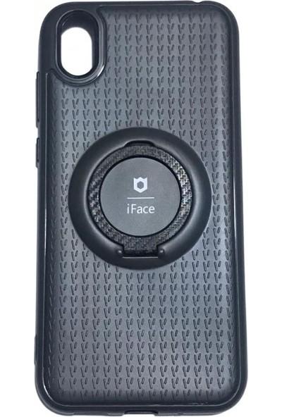iface Huawei Y5 2019 iface Yüzüklü Standlı Mıknatıslı Kılıf