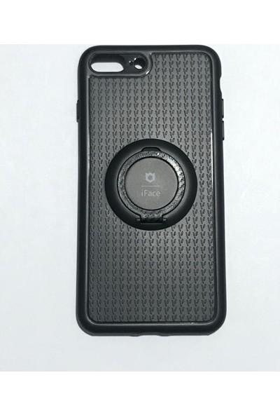 iface Apple iPhone 8 Plus iface Yüzüklü Standlı Mıknatıslı Kılıf