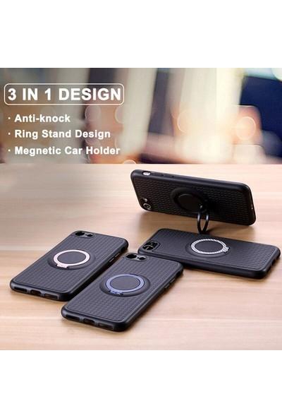 iface Samsung A80 iface Yüzüklü Standlı Mıknatıslı Kılıf