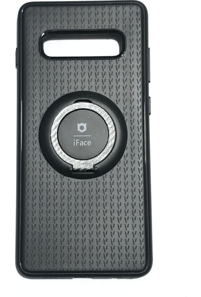 iface Samsung S10 Plus iface Yüzüklü Standlı Mıknatıslı Kılıf
