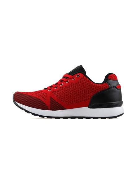 Northjack Gri Erkek Günlük Ayakkabı Gladwın-Kırmızı Gladwin Kirmizi