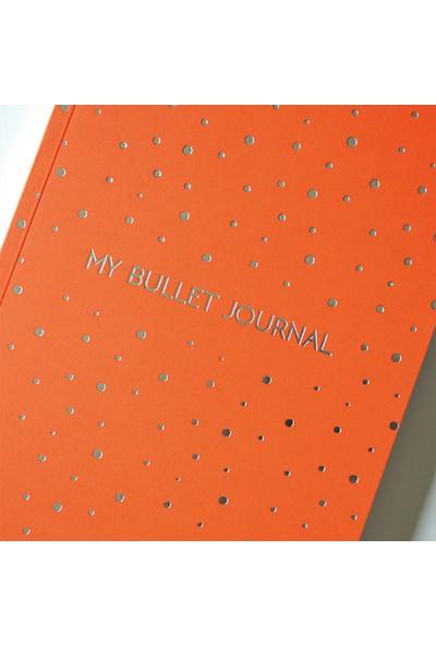 Pulp Bullet Journal Orange Noktalı Defter (A5)