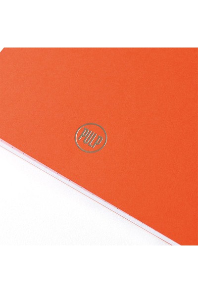 Pulp Bullet Journal Orange Noktalı Defter (A5)