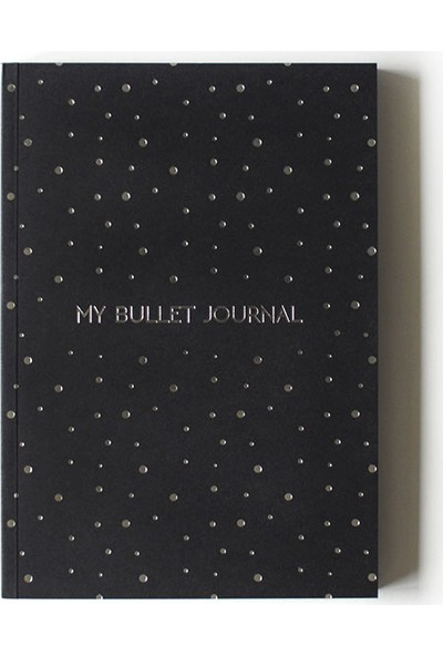 Pulp Bullet Journal Black Noktalı Defter (A5)
