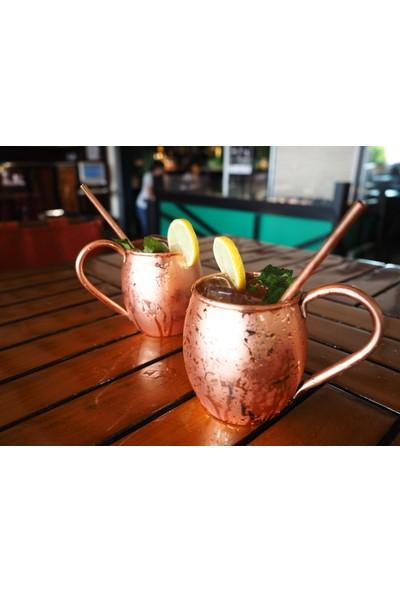 Copperbucker Moscow Mule Bakır Kokteyl Kupası- Mug - Bira Bardağı- Tekli