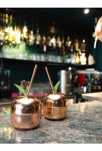Copperbucker 2li Bakır Kokteyl Bardağı- Kupa- Kadeh-Hediye Seti