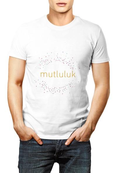 Sihirli Semboller Mutluluk Sembollü T-Shirt