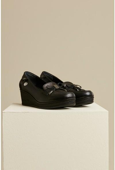 Mammamia Kadın Deri Klasik Ayakkabı