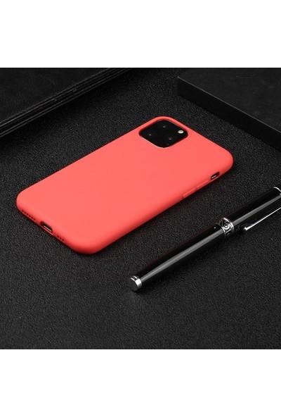 "Ssmobil Apple iPhone 11 Pro 5.8"" Soft Tpu Silikon Kılıf SS-31354 Kırmızı"