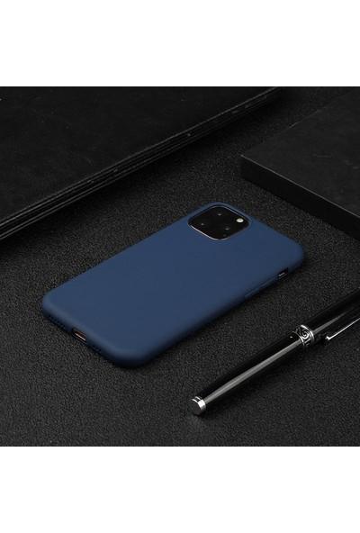 "Ssmobil Apple iPhone 11 Pro Max 6.5"" Soft Tpu Silikon Kılıf SS-31352 Lacivert"